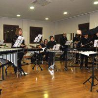 Ensayo de la orquesta de percusión #1