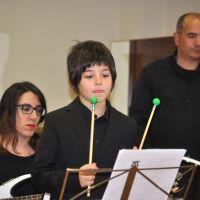 Ensayo de la orquesta de percusión #2