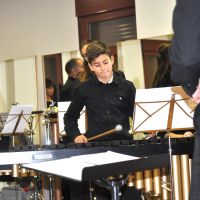 Ensayo de la orquesta de percusión #3