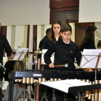 Ensayo de la orquesta de percusión #4