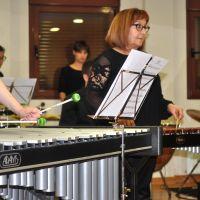 Ensayo de la orquesta de percusión #5